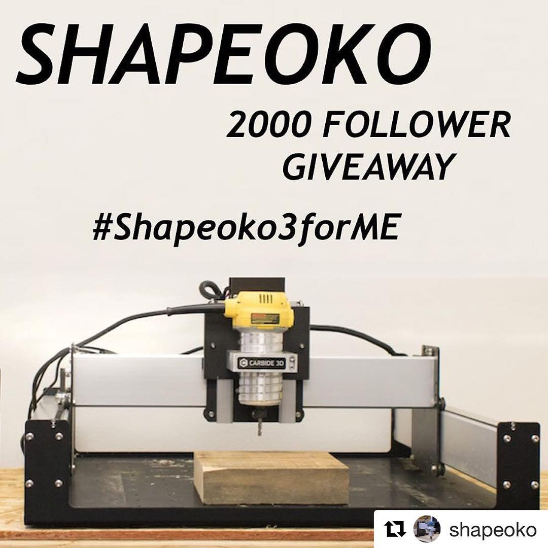 This is a game changer! Shapeoko3forME